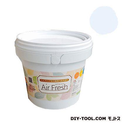 エアフレッシュ ハイブリット型光触媒内装用塗料 アイスブルー 4kg イサム塗料 塗料 水性塗料