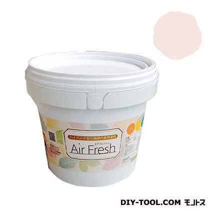 エアフレッシュ ハイブリット型光触媒内装用塗料 ピーチホワイト 4kg イサム塗料 塗料 水性塗料