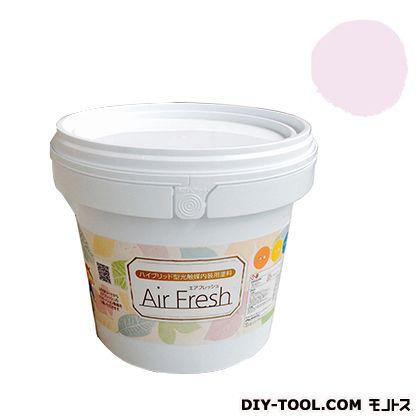 エアフレッシュ ハイブリット型光触媒内装用塗料 シュガーピンク 4kg イサム塗料 塗料 水性塗料