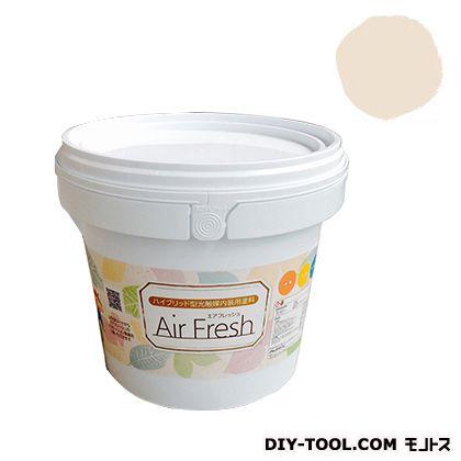エアフレッシュ ハイブリット型光触媒内装用塗料 オレンジメレンゲ 4kg イサム塗料 塗料 水性塗料