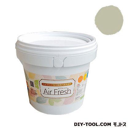 エアフレッシュ ハイブリット型光触媒内装用塗料 ハーベストベージュ 4kg イサム塗料 塗料 水性塗料