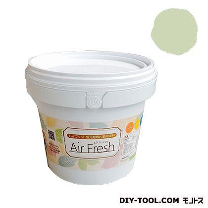 エアフレッシュ ハイブリット型光触媒内装用塗料 グリーンピース 4kg イサム塗料 塗料 水性塗料