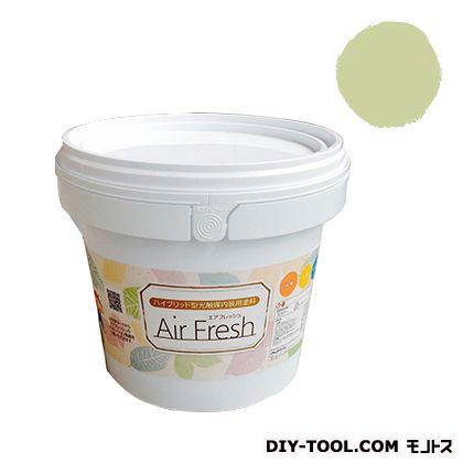 エアフレッシュ ハイブリット型光触媒内装用塗料 シトラス 4kg イサム塗料 塗料 水性塗料