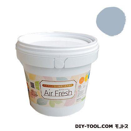 エアフレッシュ ハイブリット型光触媒内装用塗料 ウィスパーブルー 4kg イサム塗料 塗料 水性塗料