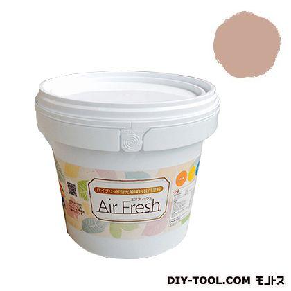 エアフレッシュ ハイブリット型光触媒内装用塗料 シナモン 4kg イサム塗料 塗料 水性塗料