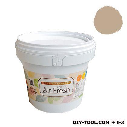 エアフレッシュ ハイブリット型光触媒内装用塗料 キャラメル 4kg イサム塗料 塗料 水性塗料