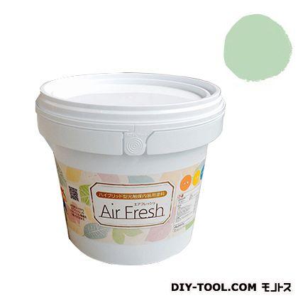 エアフレッシュ ハイブリット型光触媒内装用塗料 スプラウトグリーン 4kg イサム塗料 塗料 水性塗料