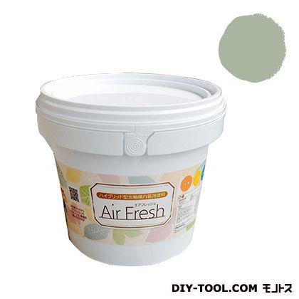 エアフレッシュ ハイブリット型光触媒内装用塗料 ハーブグリーン 4kg イサム塗料 塗料 水性塗料