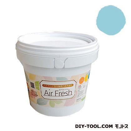 エアフレッシュ ハイブリット型光触媒内装用塗料 ドリームブルー 4kg イサム塗料 塗料 水性塗料
