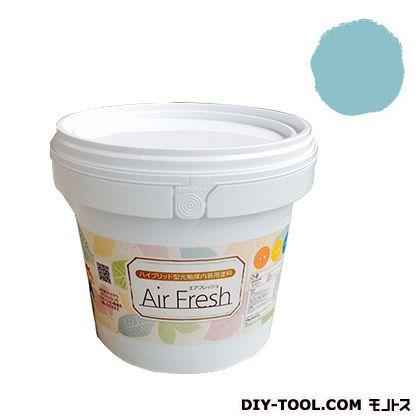 エアフレッシュ ハイブリット型光触媒内装用塗料 ナイルブルー 4kg イサム塗料 塗料 水性塗料