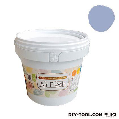 エアフレッシュ ハイブリット型光触媒内装用塗料 ミスティックブルー 4kg イサム塗料 塗料 水性塗料