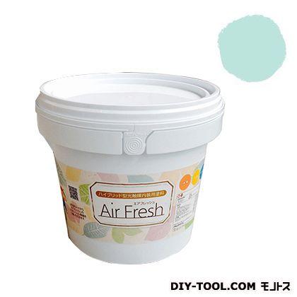 エアフレッシュ ハイブリット型光触媒内装用塗料 アクアミント 4kg イサム塗料 塗料 水性塗料