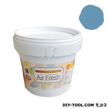 エアフレッシュ ハイブリット型光触媒内装用塗料 レイクブルー 4kg イサム塗料 塗料 水性塗料