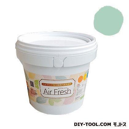 エアフレッシュ ハイブリット型光触媒内装用塗料 スプリンググリーン 4kg イサム塗料 塗料 水性塗料