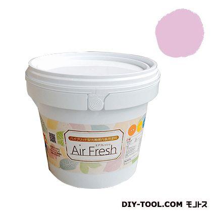 エアフレッシュ ハイブリット型光触媒内装用塗料 ピーチブロッサム 4kg イサム塗料 塗料 水性塗料