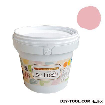 エアフレッシュ ハイブリット型光触媒内装用塗料 フラミンゴ 4kg イサム塗料 塗料 水性塗料