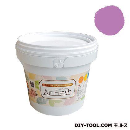 エアフレッシュ ハイブリット型光触媒内装用塗料 ラズベリーシェイク 4kg イサム塗料 塗料 水性塗料