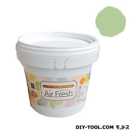 エアフレッシュ ハイブリット型光触媒内装用塗料 ピスタチオ 4kg イサム塗料 塗料 水性塗料