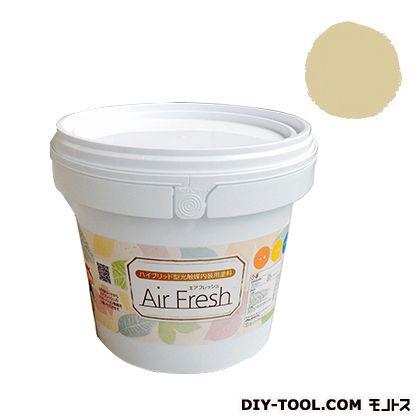 エアフレッシュ ハイブリット型光触媒内装用塗料 ハニーレモン 4kg イサム塗料 塗料 水性塗料
