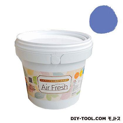 エアフレッシュ ハイブリット型光触媒内装用塗料 セイリングブルー 4kg イサム塗料 塗料 水性塗料