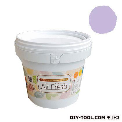エアフレッシュ ハイブリット型光触媒内装用塗料 スウィートラベンダー 4kg イサム塗料 塗料 水性塗料