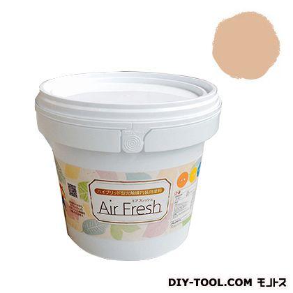 エアフレッシュ ハイブリット型光触媒内装用塗料 ピーチソルベ 4kg イサム塗料 塗料 水性塗料