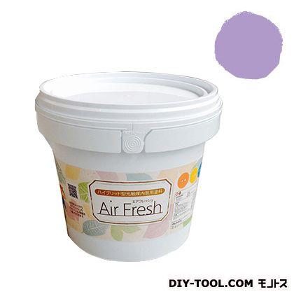 エアフレッシュ ハイブリット型光触媒内装用塗料 ラベンダードリーム 4kg イサム塗料 塗料 水性塗料