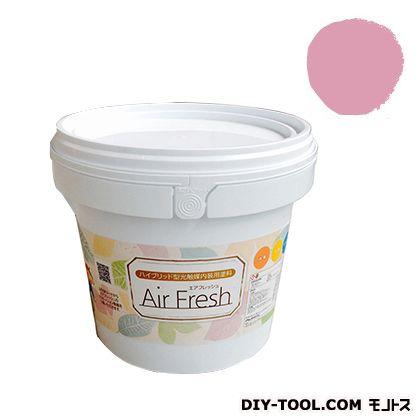エアフレッシュ ハイブリット型光触媒内装用塗料 フレンチローズ 4kg イサム塗料 塗料 水性塗料