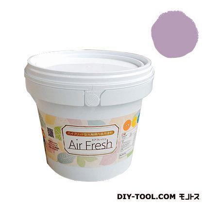 エアフレッシュ ハイブリット型光触媒内装用塗料 ミルキーピンク 4kg イサム塗料 塗料 水性塗料