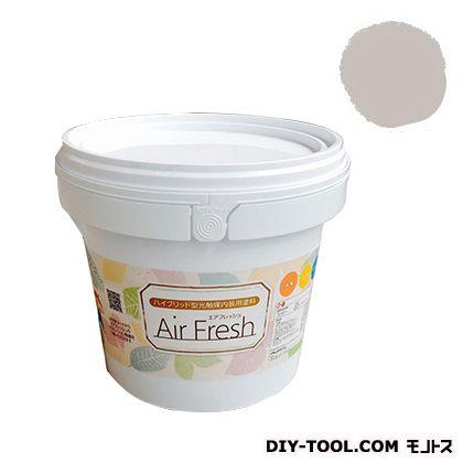 エアフレッシュ ハイブリット型光触媒内装用塗料 ヘイズグレイ 4kg イサム塗料 塗料 水性塗料