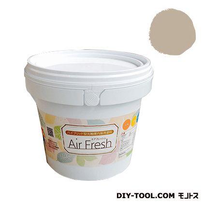 エアフレッシュ ハイブリット型光触媒内装用塗料 ビスケット 4kg イサム塗料 塗料 水性塗料
