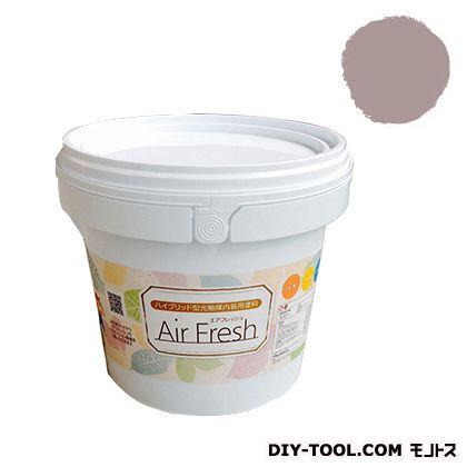 エアフレッシュ ハイブリット型光触媒内装用塗料 ローズベージュ 4kg イサム塗料 塗料 水性塗料