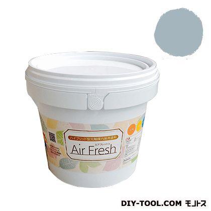 エアフレッシュ ハイブリット型光触媒内装用塗料 サイレントブルー 4kg イサム塗料 塗料 水性塗料