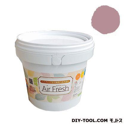 エアフレッシュ ハイブリット型光触媒内装用塗料 オールドローズ 4kg イサム塗料 塗料 水性塗料
