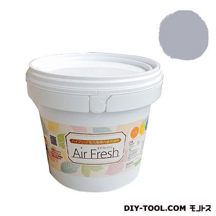 エアフレッシュ ハイブリット型光触媒内装用塗料 フロスティグレイ 4kg イサム塗料 塗料 水性塗料