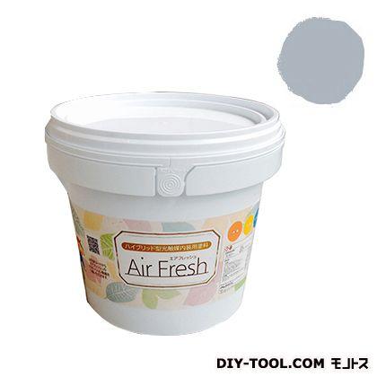 エアフレッシュ ハイブリット型光触媒内装用塗料 アッシュグレイ 4kg イサム塗料 塗料 水性塗料