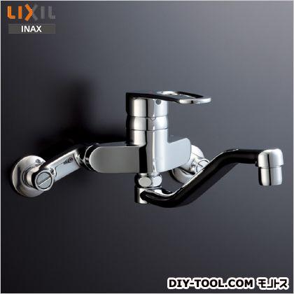 イナックス 壁付シングルレバー混合水栓 (RSF-566Y) INAX 混合栓 キッチン用シングルレバー混合栓