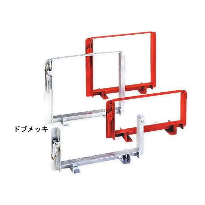 伊藤製作所 単管ハンガー赤色塗装100本用 TH100P 1セット