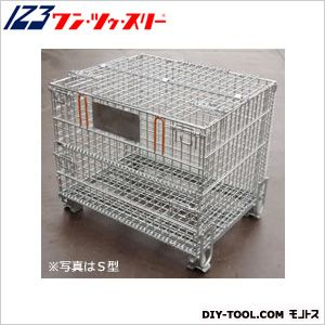 伊藤製作所 吊り上げ式かご型パレット※フタ付S型  PM-SPT2 1 台