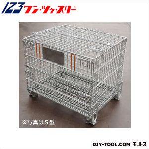 伊藤製作所 吊り上げ式かご型パレット※フタ付L型  PM-LPT2 1 台