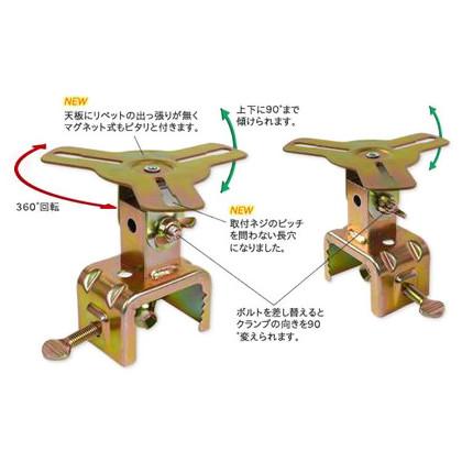 伊藤製作所 回転灯クランプ (JS-G) 10台 伊藤製作所 標識 フェンス