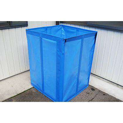 アイベックス 工場用フレコンスタンド 青 W830xD830xH1100mm