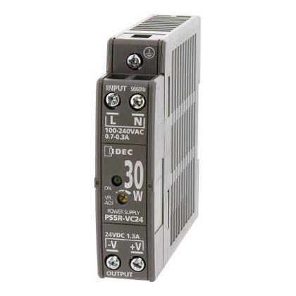 IDEC PS5R-V形スイッチングパワーサプライ(薄形DINレール取付電源) (PS5R-VE24)