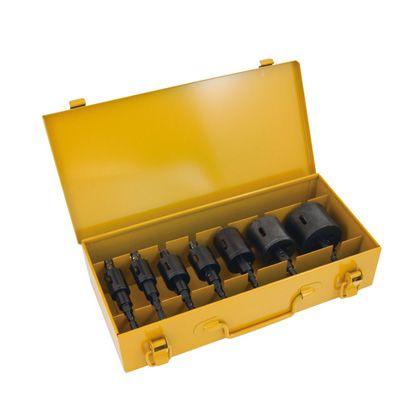 デンサン 爆買い送料無料 引出物 充電バイメタルホールソーセット JH-2153