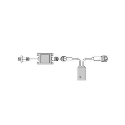 デンサン LEDピカライン(ローボルト24V)  PLD-C60-01P
