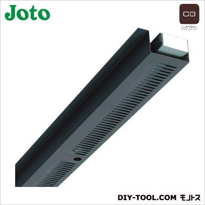 JOTO 軒天換気材本体 シックブラウン FV-N016F-L27-CB
