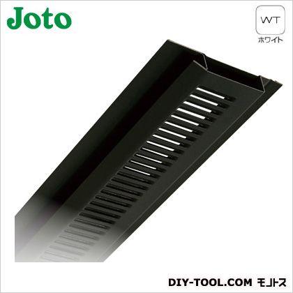 JOTO 軒天換気材本体 ホワイト FV-N0618KF-L27-WT