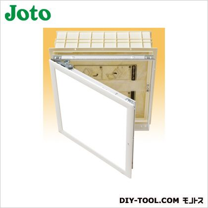 JOTO 高気密型天井口 点検口:ホワイト 断熱枠:アイボリー 断熱材:淡黄色 469×469mm SPC-S4545BH2