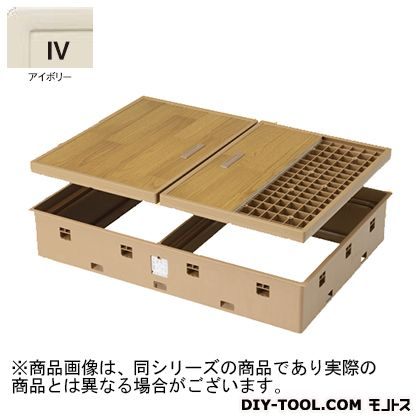 JOTO 高気密床下点検口標準型 アイボリー SPF-R9060F12-IV