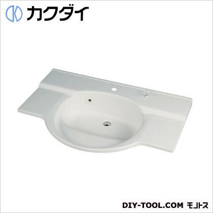 カクダイ ボウル一体型カウンター//1ホール 7L 497-026